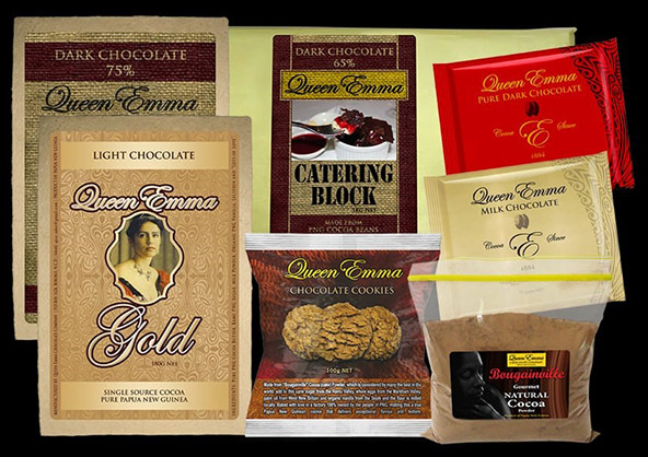 קווין אמה שוקולד נמכר בחנויות המקומיות עד היום