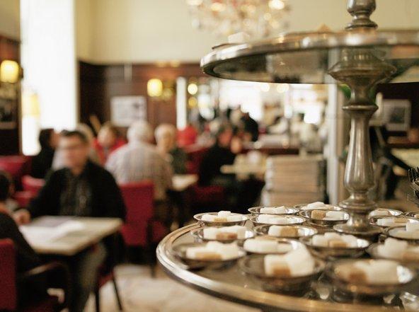 קפה דיגלאס, אחד מבתי הקפה הקלאסיים בעיר | צילום: © WienTourismus/Christian Stemper