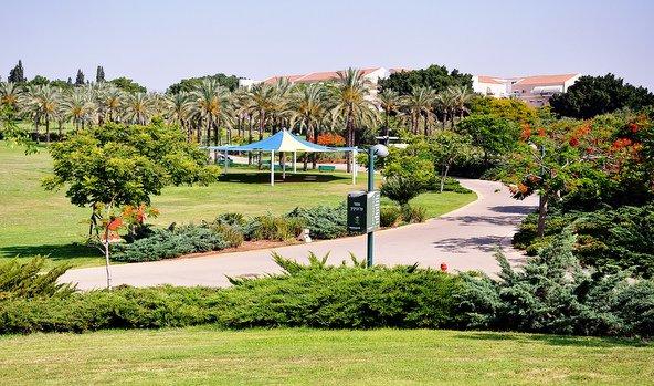 פארק כפר סבא. העיר משובצת בפארקים וגינות | צילום: בן ניקסון