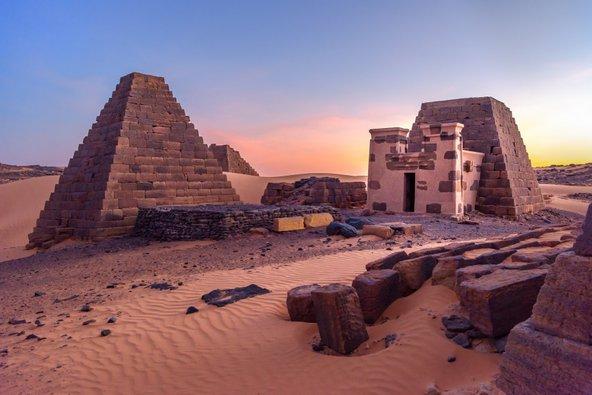 אתר הפירמידות במרואה, מאתרי הפירמידות החשובים במדינה