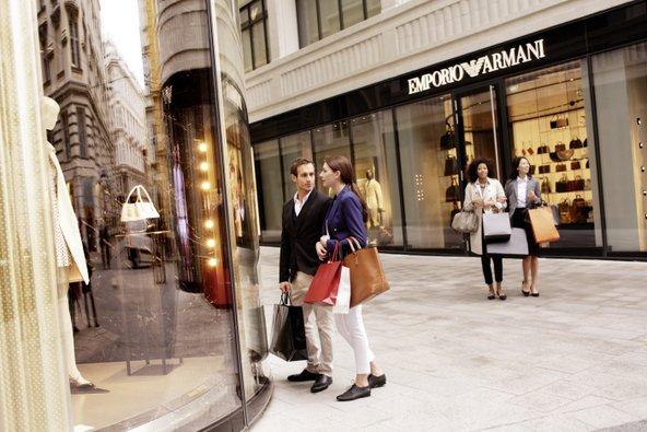 הרובע המוזהב הוא אחד מאזורי הקניות היוקרתיים בעיר | צילום: © WienTourismus/Peter Rigaud