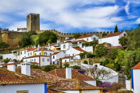 העיירה המבוצרת אובידוש, אחת מהפנינים של פורטוגל