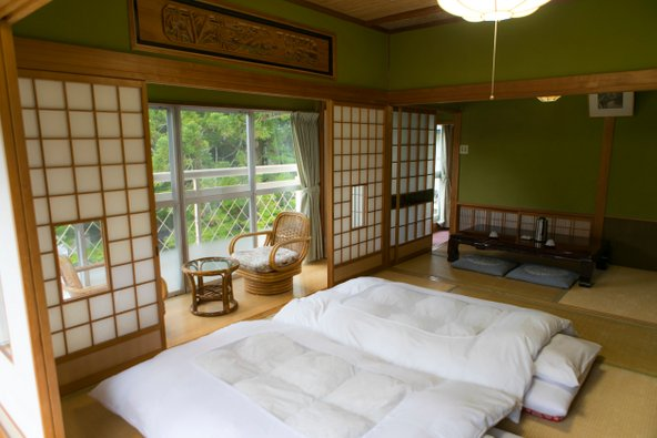 הלינה בריוקן מאפשרת הצצה לאורח החיים היפני המסורתי