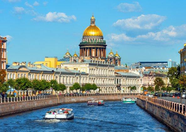 סנט פטרבורג. תעלות, ארמונות וכנסיות מפוארות