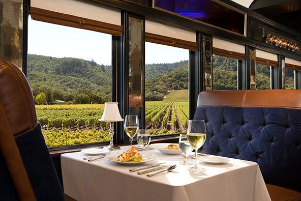 רכבת היין בעמק נאפה