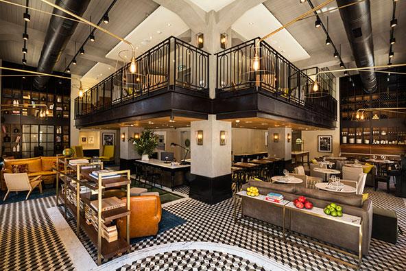 מלון מרקט האוס ביפו. אחד המלונות הראשונים שרשת אטלס מחזירה לפעילות
