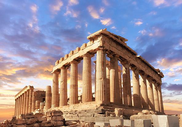 הפרתנון באקרופוליס של אתונה