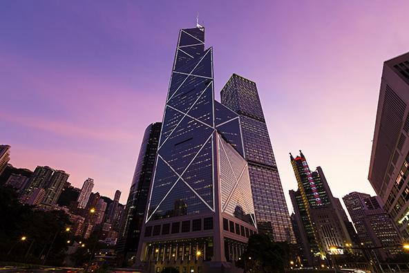 המגדל של בנק אוף צ'יינה בהונג קונג