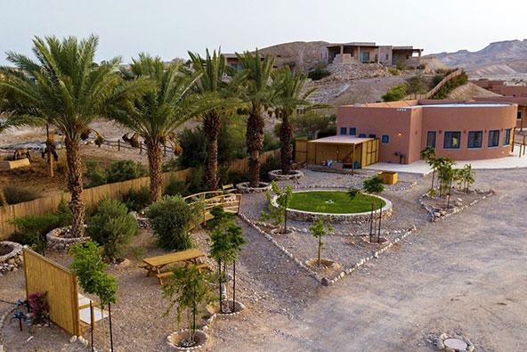 זמן ערבה. כפרי הנופש והצימרים בגליל ובמדבר יהיו הראשונים לקלוט אורחים | צילום: אביעד בר
