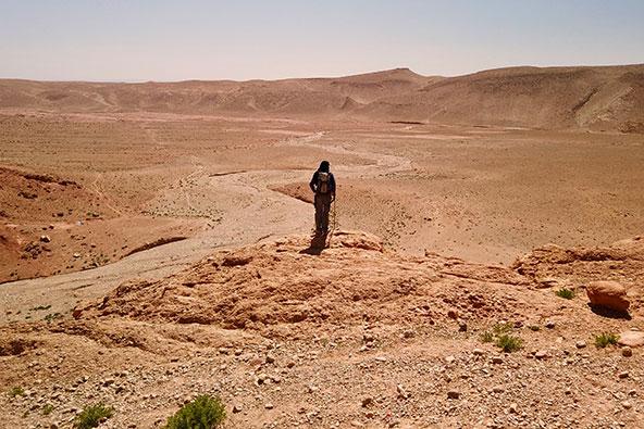בקעות מישוריות בסביבת הדאדס, מרוקו