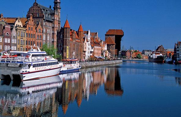 גדנסק, בצפון פולין, על חופו של הים הבלטי