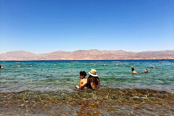 שמורת האלמוגים באילת. צילום רותם בר כהן