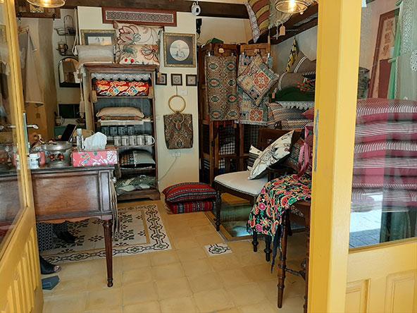 חנות בעיר העתיקה, אחת מהחנויות העיצוב והגלריות החדשות שפתחו נשים יזמיות מעוררות השראה