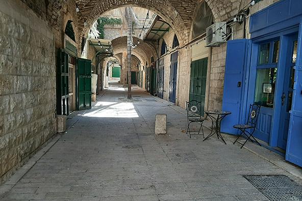 בסמטאות העיר העתיקה של נצרת