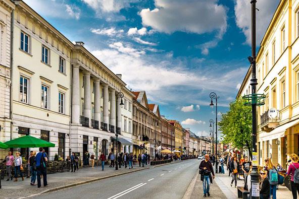 ורשה, בירת פולין. בתמונה למעלה: עיר הנמל ההיסטורית גדנסק | הצילומים באדיבות לשכת התיירות של פולין