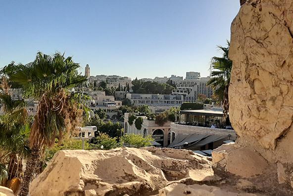 מבט על העיר מטיילת החומות, צילום רותם בר כהן