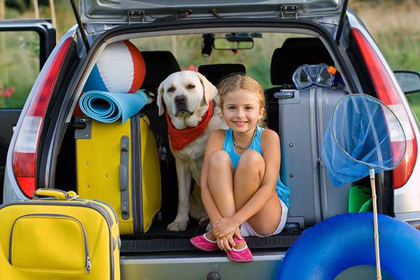 לצאת לחופש עם הכלב: חופשה עם זנב
