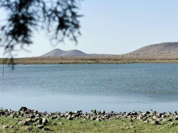 מיקמתי את הקרוואן קרוב ככל האפשר אל שפת האגם (צילומים: רונן רז)
