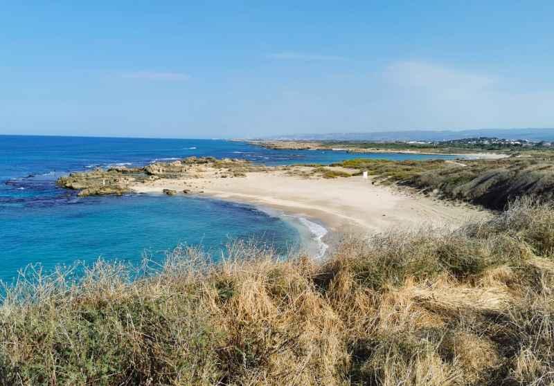 המפרץ היפה של חוף דור. צילומים: רונן רז