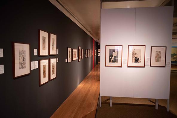 תערוכת הדפסים במוזיאון טיקוטין לאמנות יפנית. הצצה מרתקת לתרבות והאמנות של יפן | צילום: אופק רון-כרמל
