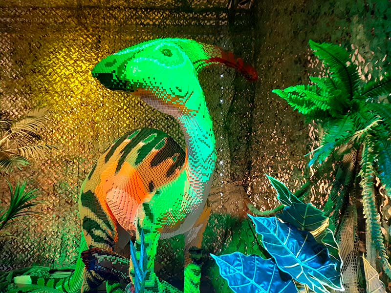 איך עושה דינוזאור (מלגו)?
