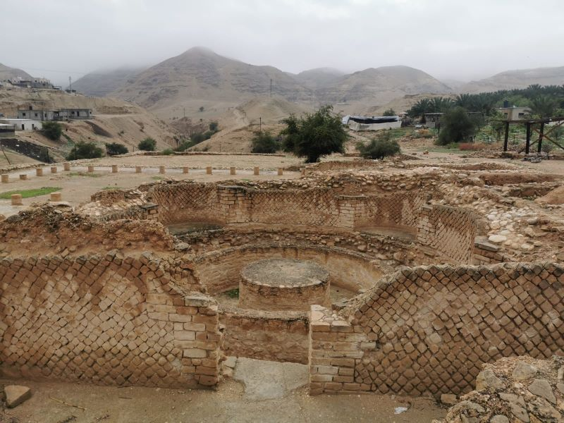 Herod's Winter Palace in Jericho