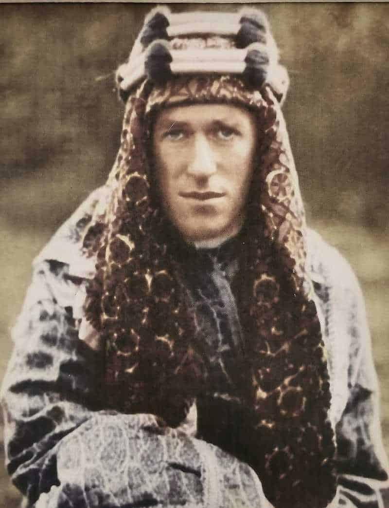 לורנס איש ערב הגיע אל הנגב והערבה במלחמת העולם הראשונה לערוך סקר צבאי