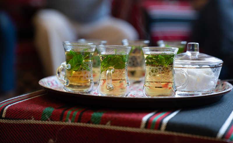 תה עם נענע במתחם האירוח דה יאפא