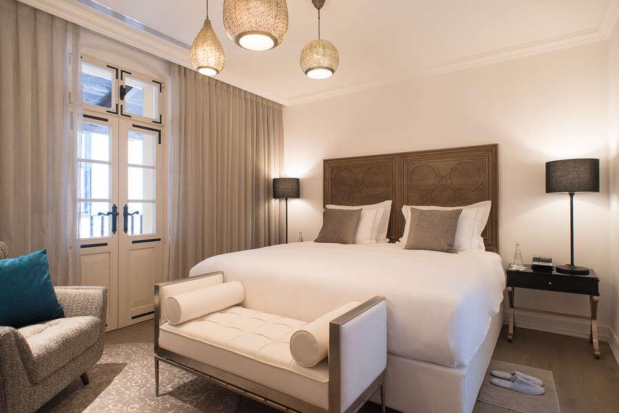 חדר במלון דריסקו | צילום: אסף פיצ'וק