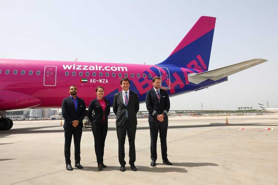 הטיסה הראשונה של וויזאייר אבו דאבי נחתה בישראל