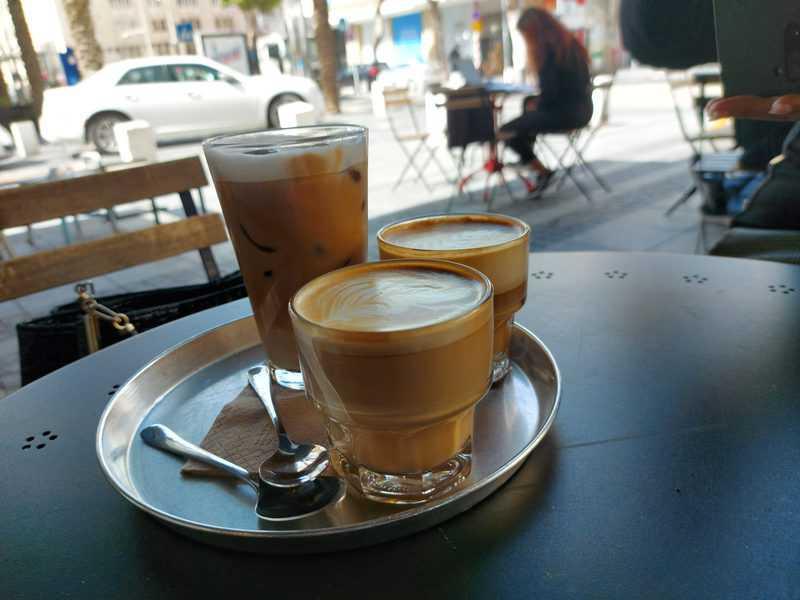 קפה פלמר, הסנונית הראשונה לשינוי שעבר אזור הנמל