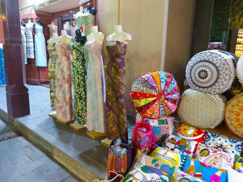 שוק הטקסטיל בבור דובאי