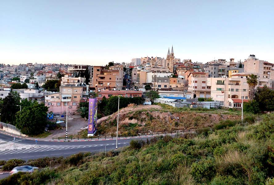 מבט על נצרת מנוף הגליל, צילום רותם בר כהן