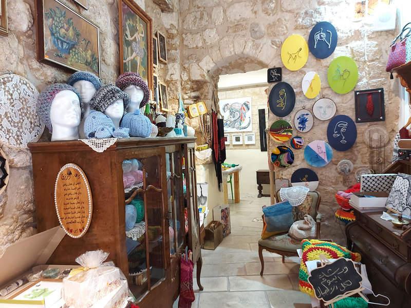 חנות עיצוב בעיר העתיקה של נצרת