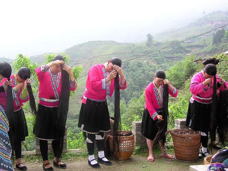 בנות הדונג (יאו בסין) ושערותיהן הארוכות