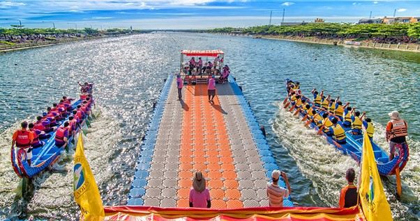 פסטיבל סירות הדרקון בלוקאנג, טייוואן