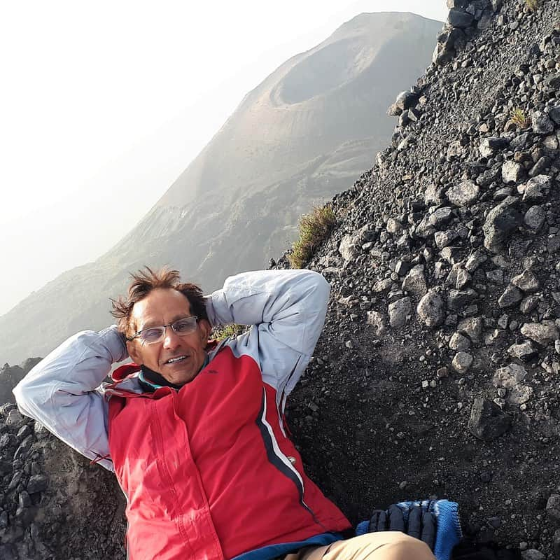 On the third day, reaching the summit of Mero takes around 6 hours of challenging and not easy walking.
