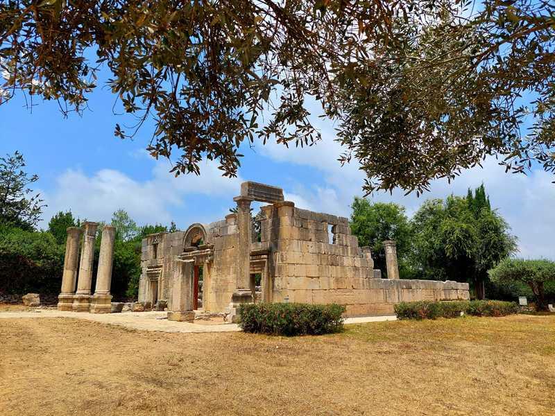 עברתי ליד בית הכנסת העתיק והמפואר עם עמודי הגיר המוצקים, המשקוף המעוטר והשער הגדול הפונה לעבר ירושלים
