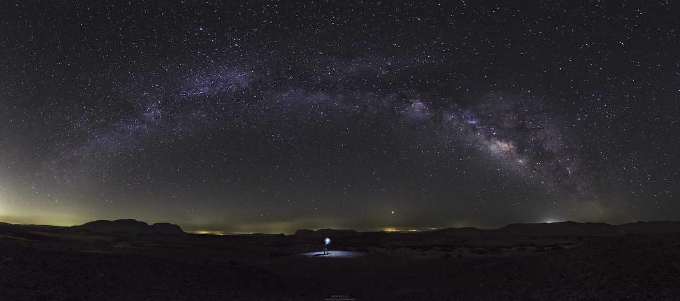 שמיים במדבר, צילום כפיר ולר