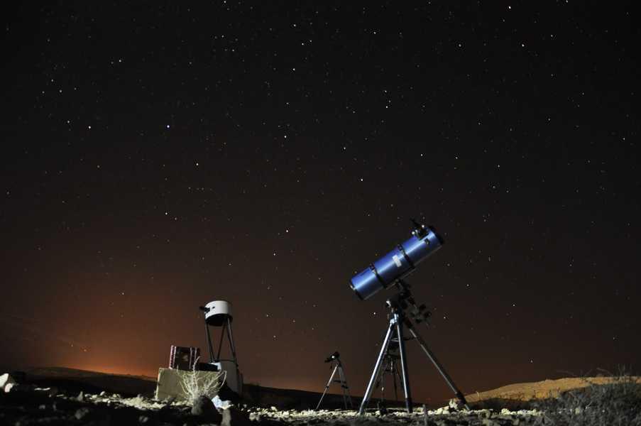 קיץ של כוכבים במצפה רמון. באדיבות חברת בטבע