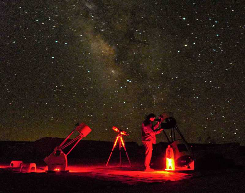 לילות כוכבים בתמנע. צילום יהונתן כלפה