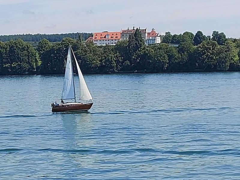 שייט באגם קונסטנץ, או בשמו הגרמני - בודנזי