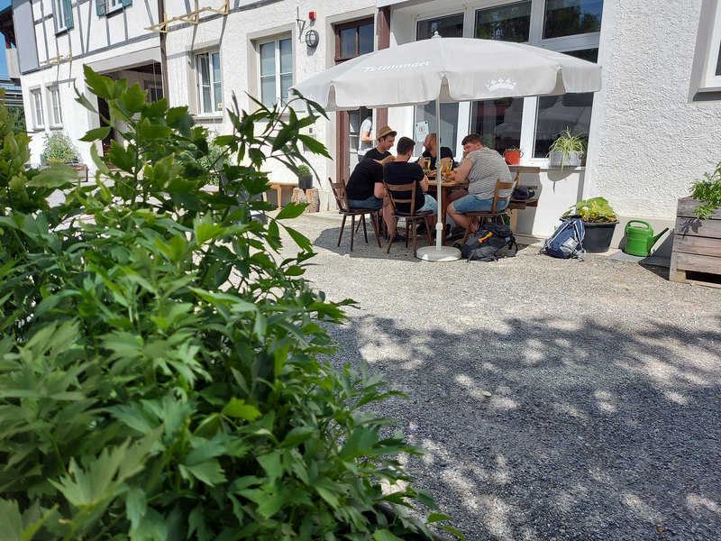 גן בירה במבשלת Hopfengut 20