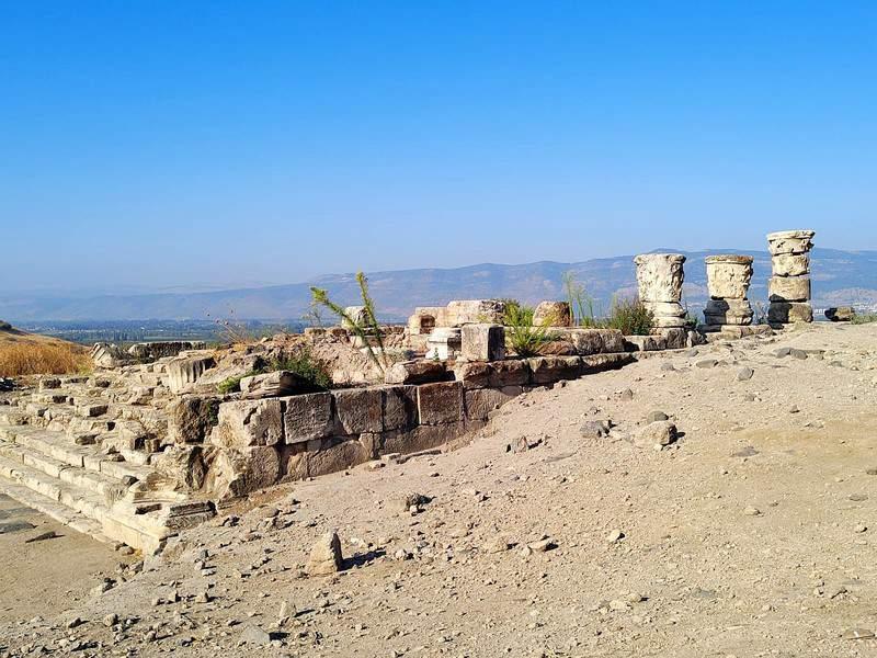 חירבת עומרית. המקום נקרא גם המקדש האבוד של הורדוס