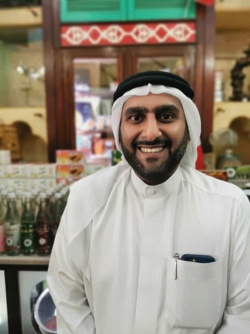 Fouad Hussein Schweiter - einer der bedeutendsten Produzenten des traditionellen Bahrain