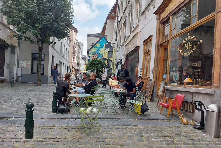 אמנות בבריסל: מוזיאונים, גלריות וקירות מצוירים